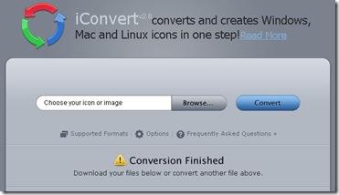 Online image converter to Ico
