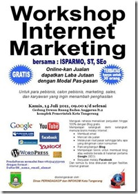 Internet Marketing brosur