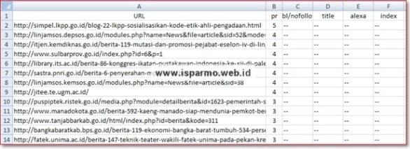 File CSV to XLSx