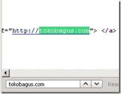 cek backlink di html code