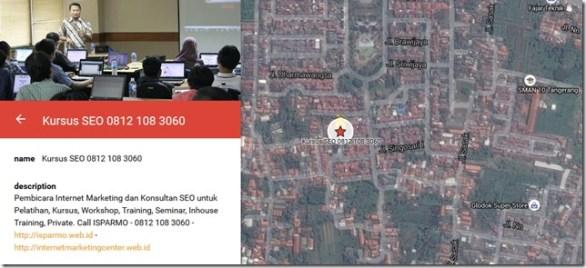 cara memasukan bisnis ke dalam google maps
