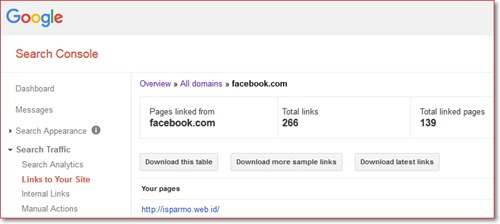 Backlink SEO dari Facebook