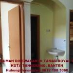 Info rumah disewakan kontrakan di Cipondoh Tanah Tinggi Kota Tangerang