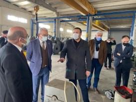 """ITSO Başkanı Tutar: """" Yalvaç'ın Isparta ekonomisi ve ihracatına çok önemli katkısı var"""""""