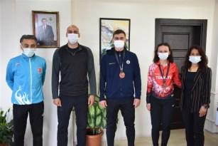 Türkiye dereceleri elden milli atletizmciler hedef büyülttü