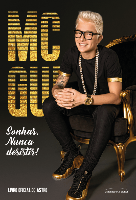 Capa do Livro do Mc Gui