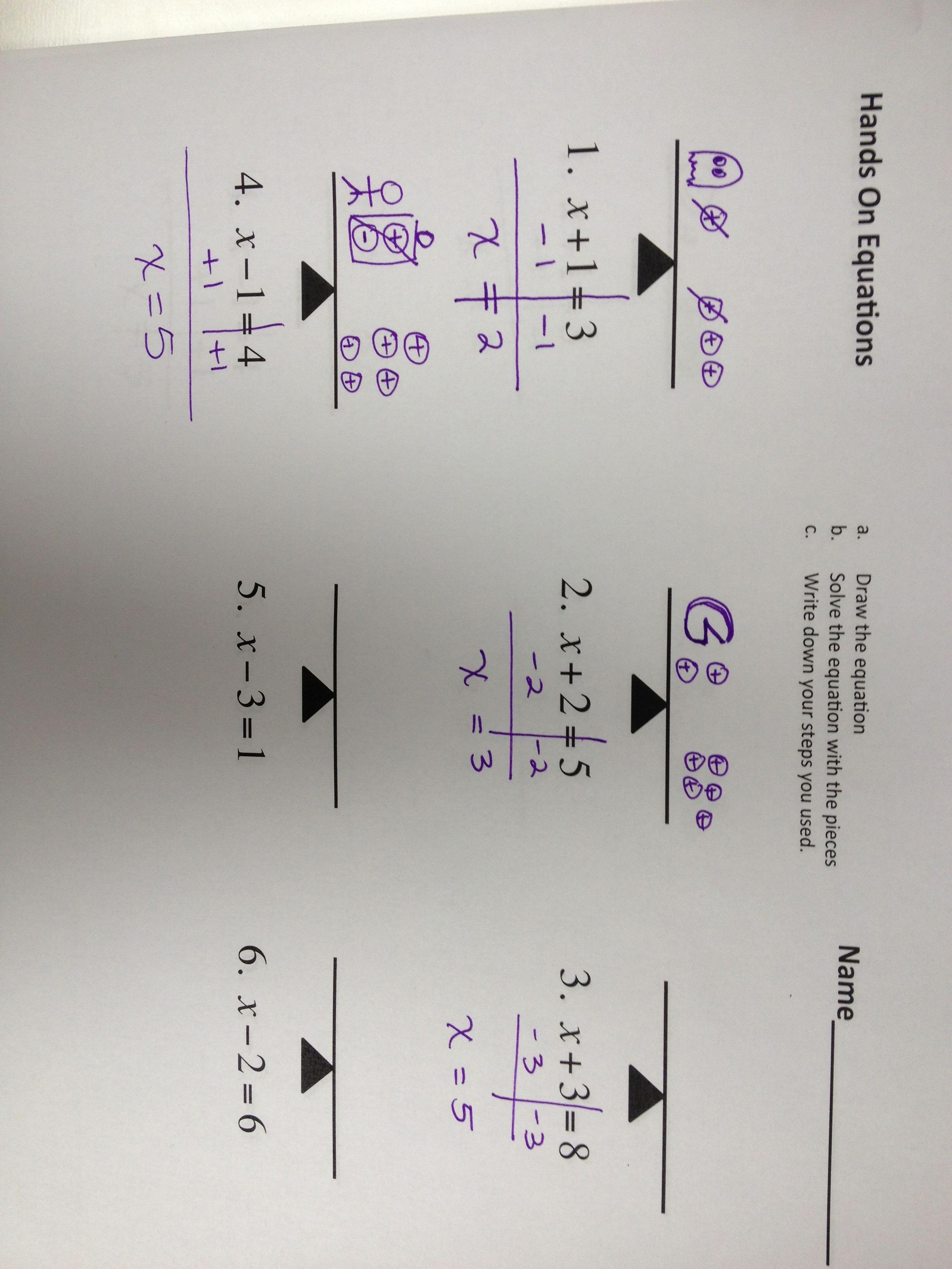 Solving Equations Monster Math