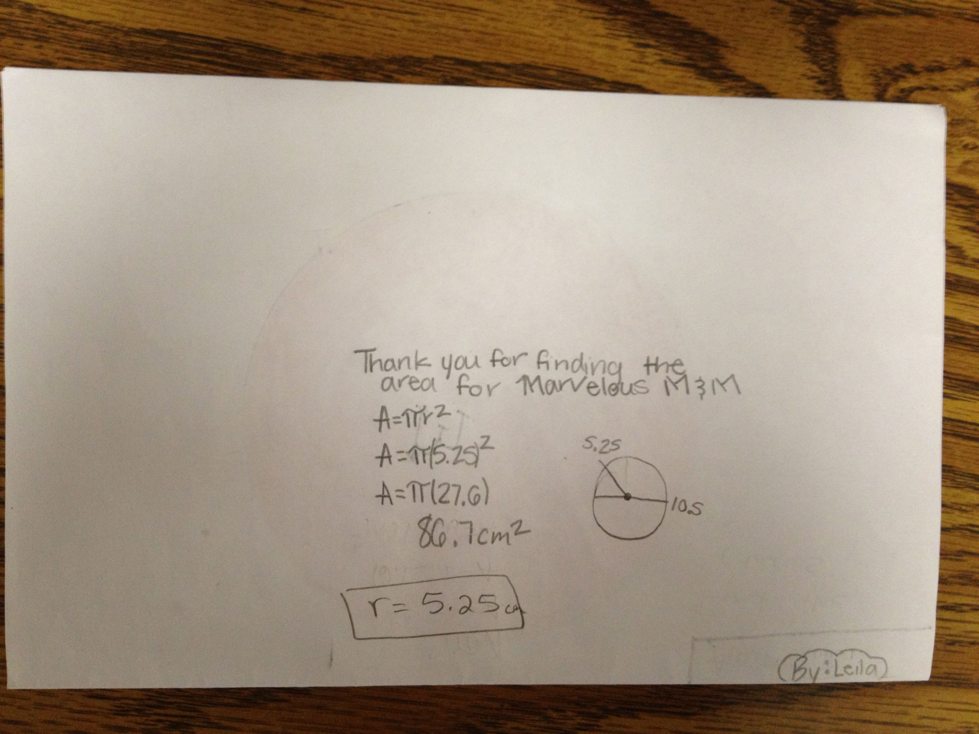 Student Created Math Hunt Of Area Of Irregular Shapes Ccss 6 G 1