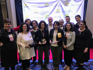 The ISPI Montreal team with their THREE Awards!