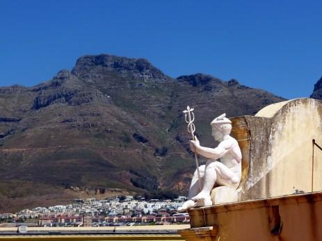 Castle of Good Hope mit Blick auf den Tafelberg