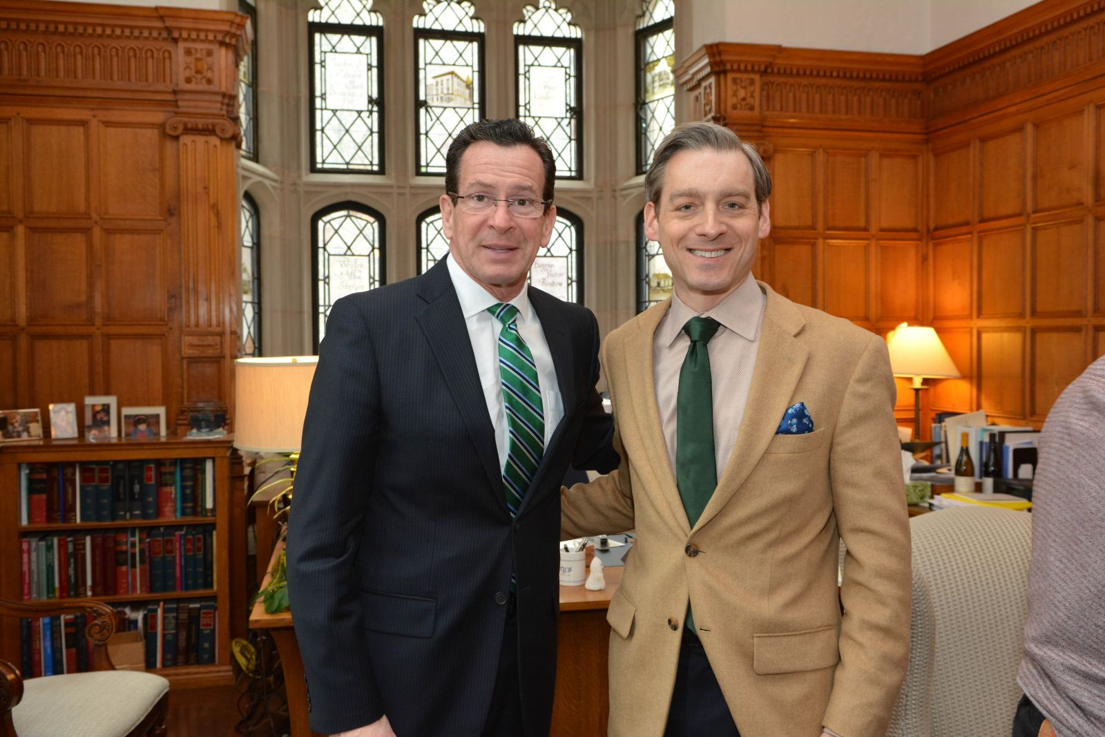 Governor Malloy Speaks At Yale Law School Institution