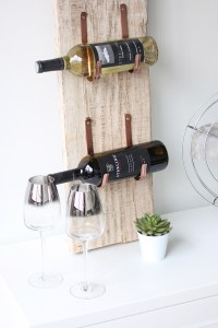 MY DIY | Barn Wood Wine Rack