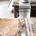 My Diy Herringbone Wood Headboard I Spy Diy