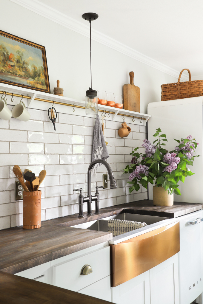 diy install an apron front sink with a
