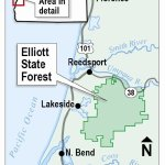 Elliot State Forest Map