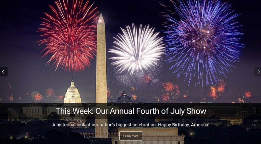 I Spy Radio's Annual Fourth of July Show