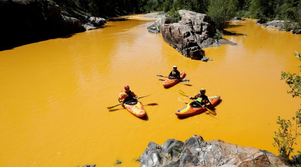 That time the EPA destroyed a river in Colorado because, you know, mining is bad