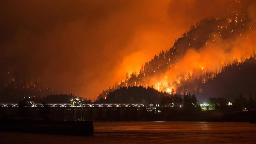 Oregon forest fires