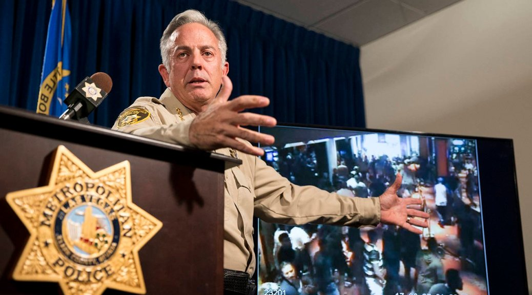 Las Vegas shooting police investigation. New questions raised about the new timeline