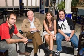 Con Vicente Aranda