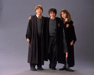 Ron, Harry, Hermione