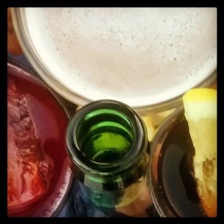 22. Bebiendo el verano.