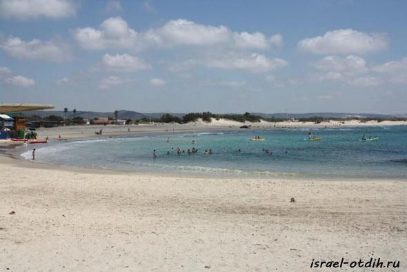 лучший пляж в Израиле фото
