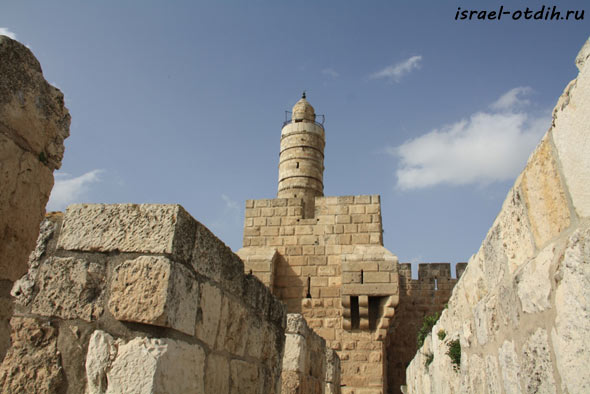 прогулка по стенам Иерусалима