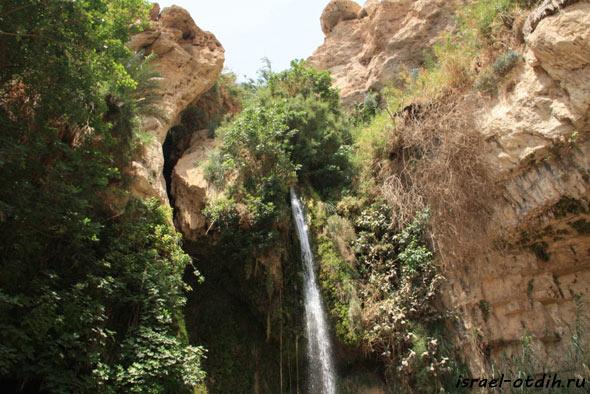фото водопада эйн геди