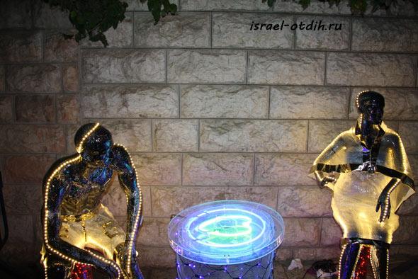 Фестиваль света в Иерусалиме 2013