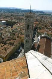 Florencia desde la cúpula de Brunelleschi