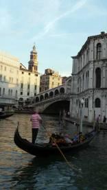 Venecia: atardecer en el Gran Canal