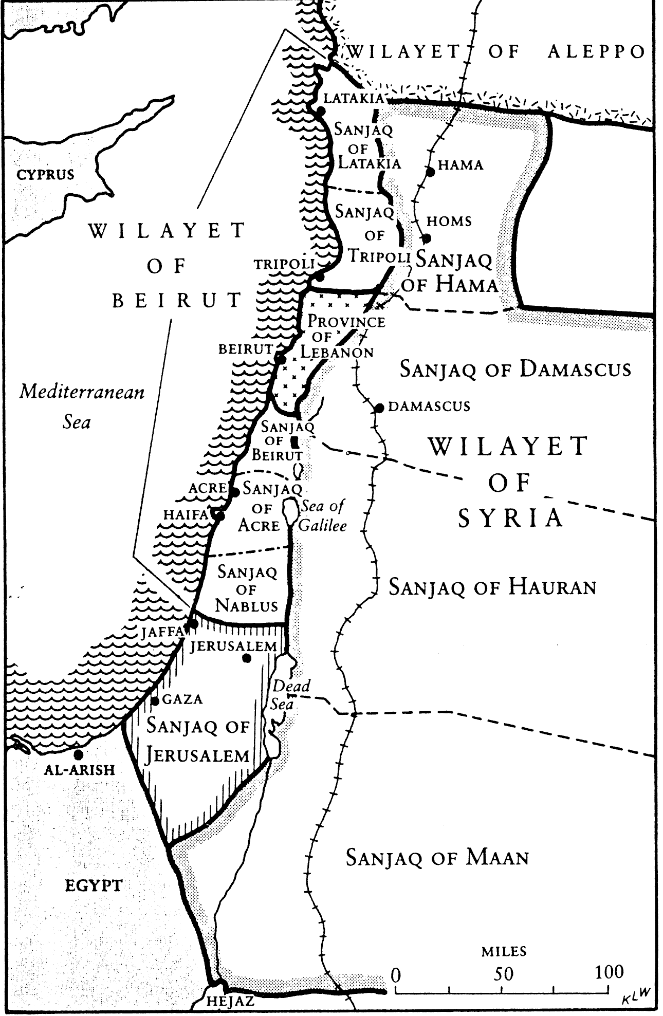 Maps Of Israel