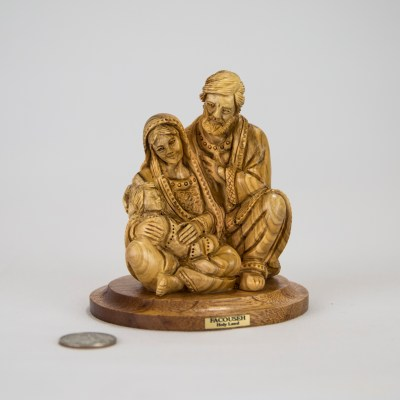 Holy Family Carved