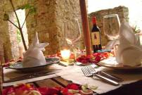 Casa Reyna_Cena romantica