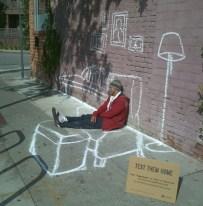 House of a homeless_street art