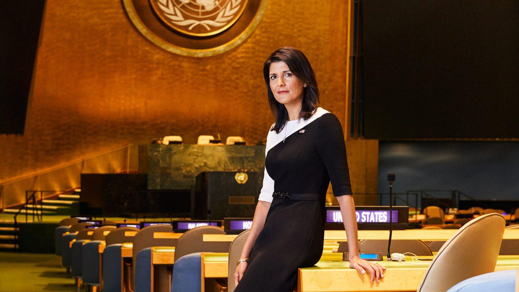 UN anti-Israel bias confronted by Envoy Nikki Haley