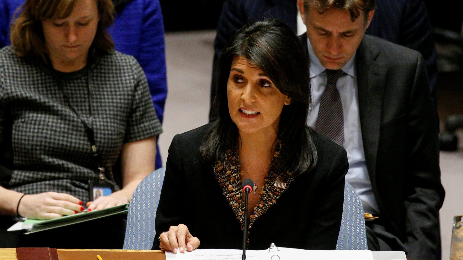 Nikki Haley: UNSC 2334 an impediment to peace