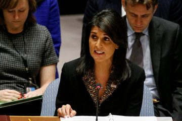 Nikki Haley at UNSC