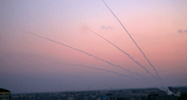 Another barrage of terror from Gaza: hundreds of rockets indiscriminately fired