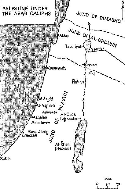Fig-1.9.-Land-of-Israel-under-Islamic-Rule