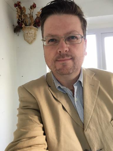 John Chacksfield FRSA, MSc, DIpCOT, PGCE