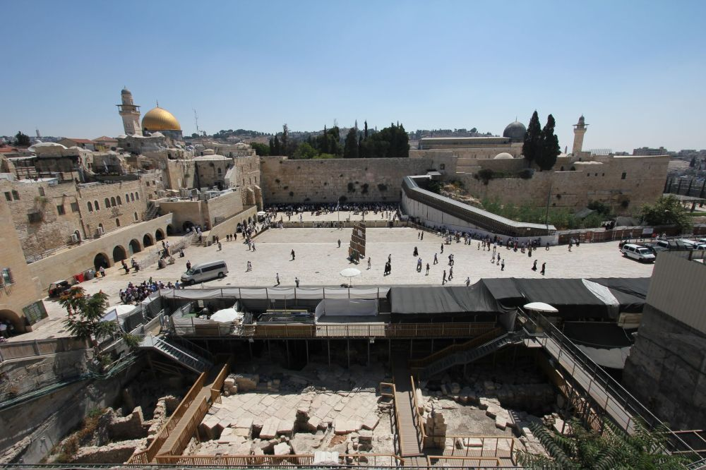 Western Wall, Wailing Wall or Kotel, Old City of Jerusalem