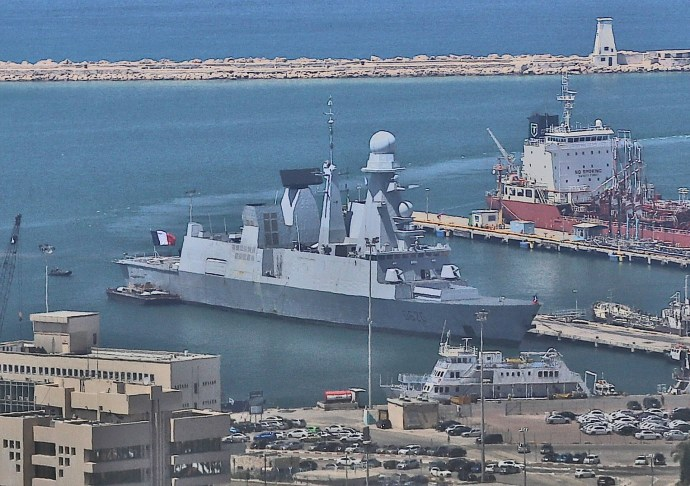 French Horizon Class Frigate D620 Visits Haifa