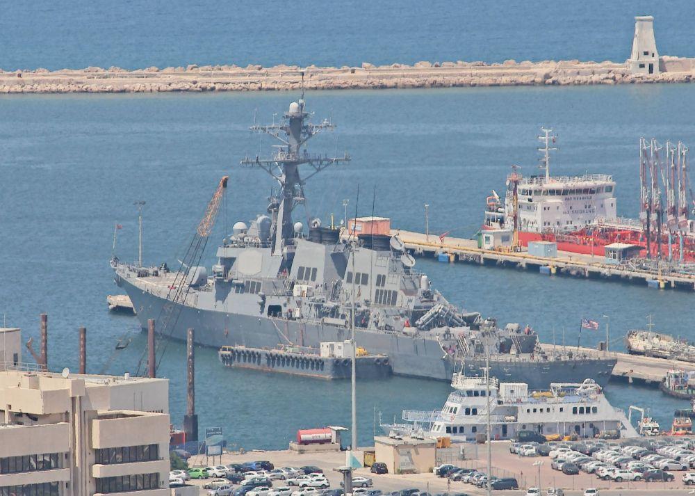 USS Porter (DDG-78) in Haifa