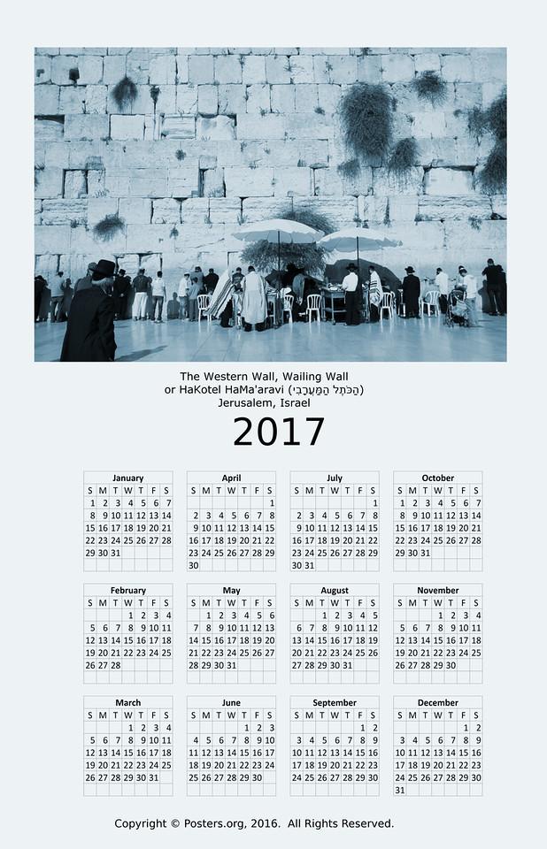 western-wall-calendar