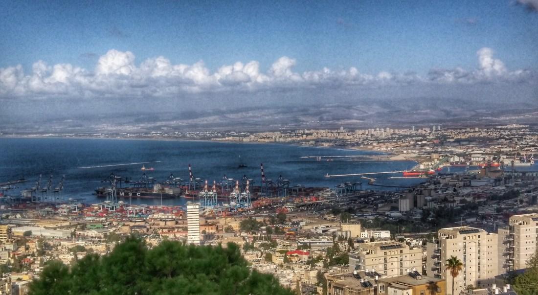Panorama of Haifa Bay