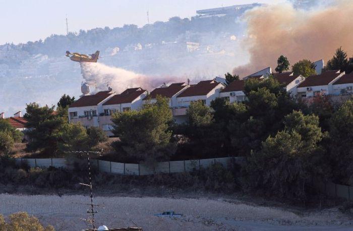 Fires in Haifa