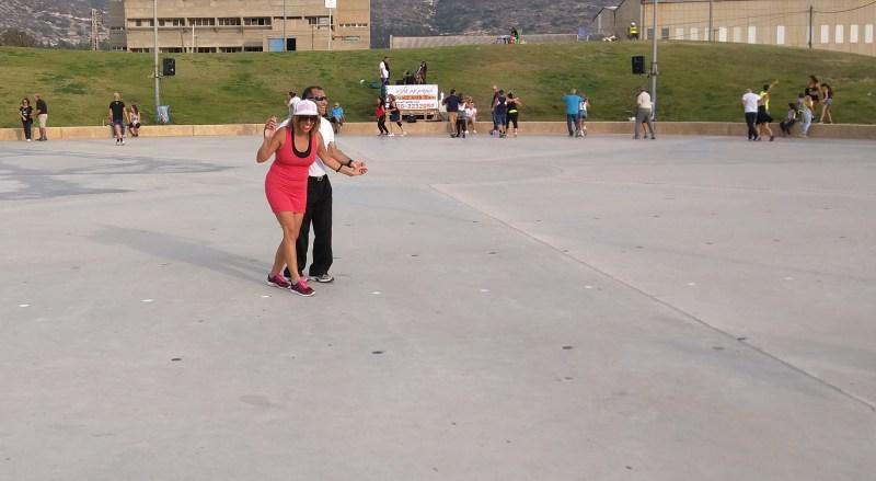 Israeli Folk Dances, Dado Beach, Haifa, Israel