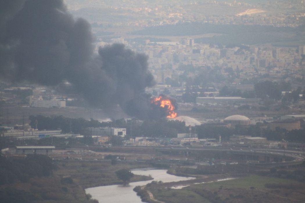 Fire in Haifa, again
